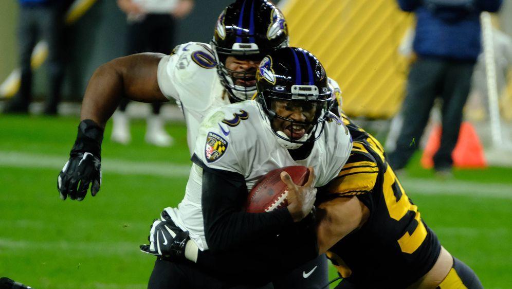 Robert Griffin III im Spiel gegen die Steelers. - Bildquelle: imago images/ZUMA Wire