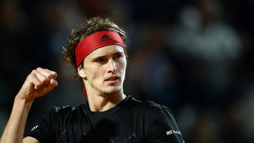 Rom: Zverev macht Traumfinale gegen Nadal perfekt - Bildquelle: AFPSID-FILIPPO MONTEFORTE
