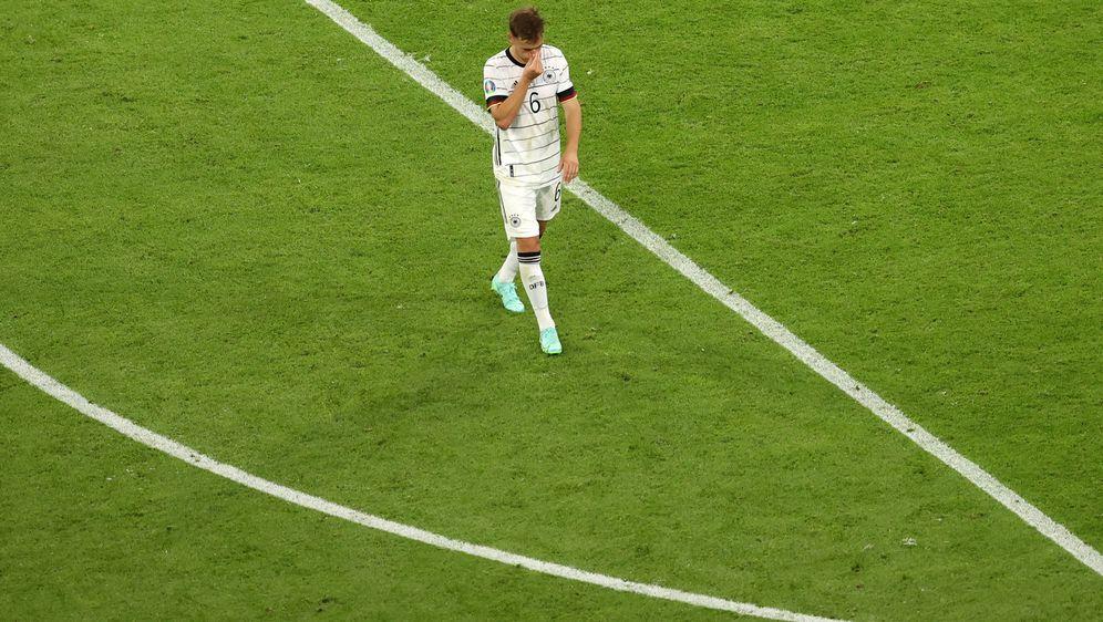 Joshua Kimmich hatte gegen Frankreich nicht so viel Einfluss auf das Spiel. - Bildquelle: getty