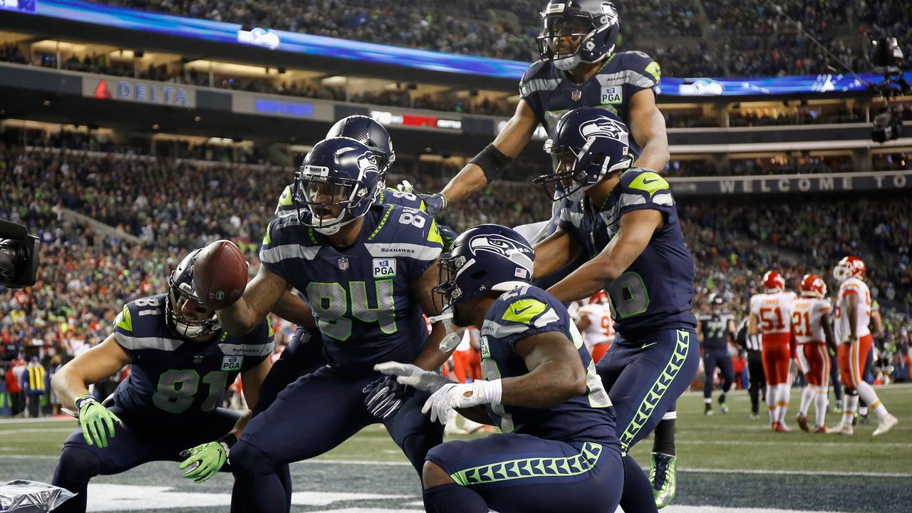Celebration of the Year: Seattle Seahawks - Bildquelle: 2018 Getty Images