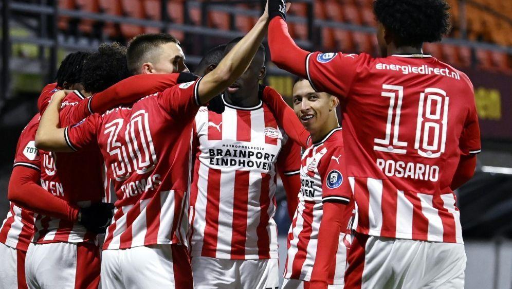 Ohne Götze gewinnt Eindhoven gegen den RKC Waalwijk - Bildquelle: AFPANPSIDOLAF KRAAK