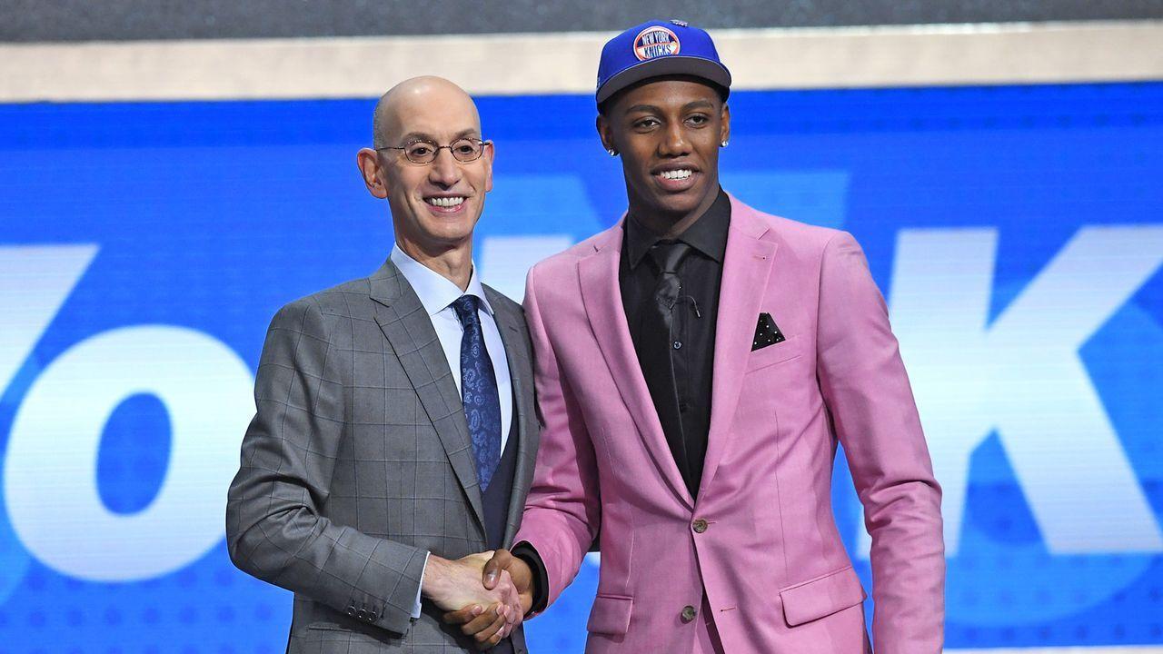 Pick 3: R.J. Barrett - New York Knicks - Bildquelle: 2019 Getty Images
