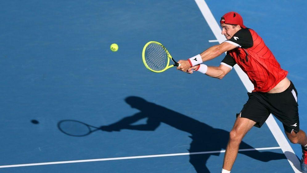 Struff hat beim ATP-Turnier das Achtelfinale erreicht - Bildquelle: AFPSIDMICHAEL BRADLEY