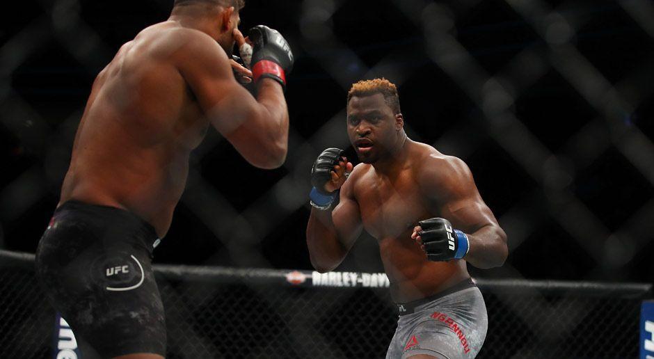 Auch UFC-Veteran Overeem ist chancenlos - Bildquelle: 2017 Getlty Images