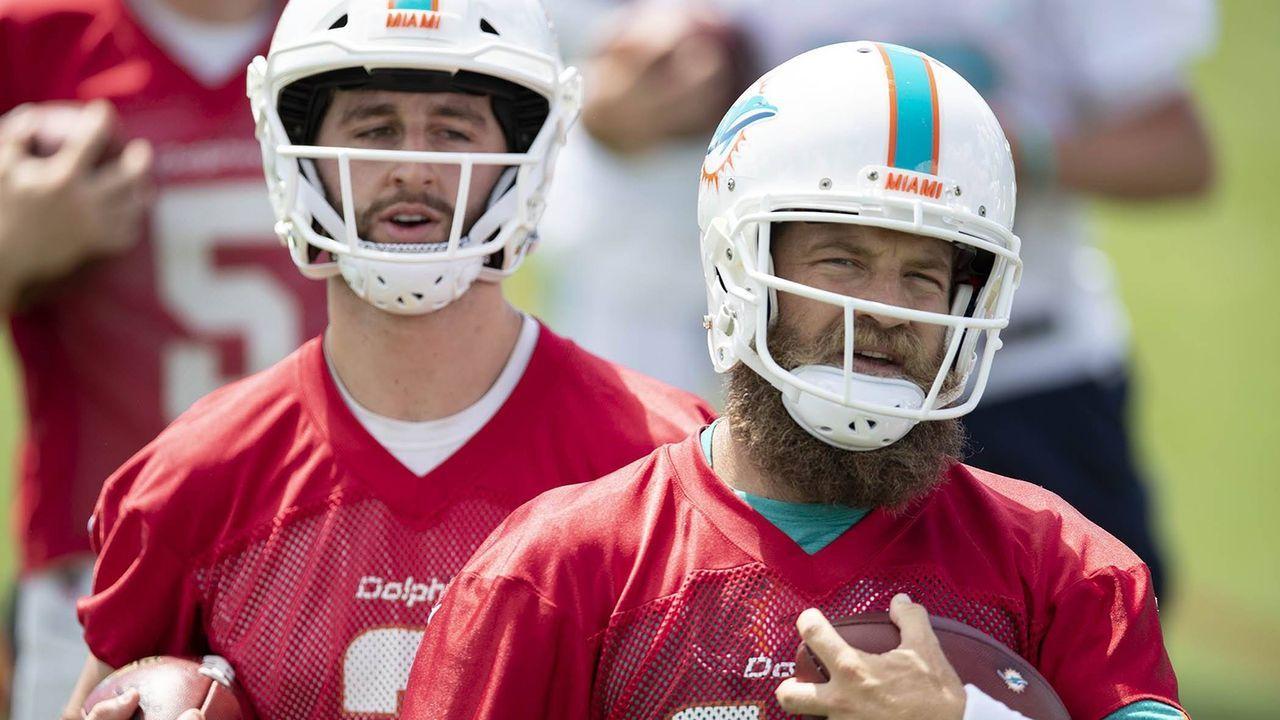 Ryan Fitzpatrick/Josh Rosen (Miami Dolphins) - Bildquelle: imago