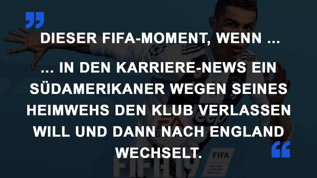 FIFA Momente Transfer