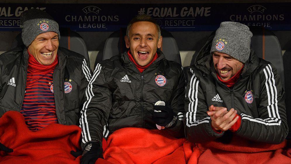 Bayern-Gegenwart, aber nicht -Zukunft: Arjen Robben, Rafinha und Franck Ribe... - Bildquelle: Getty Images