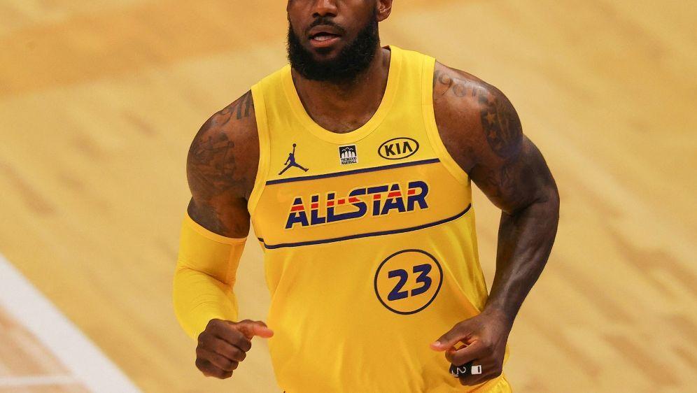 Gewann vier Mal den NBA-Titel: LeBron James - Bildquelle: AFPGETTY IMAGES NORTH AMERICASIDKEVIN C. COX