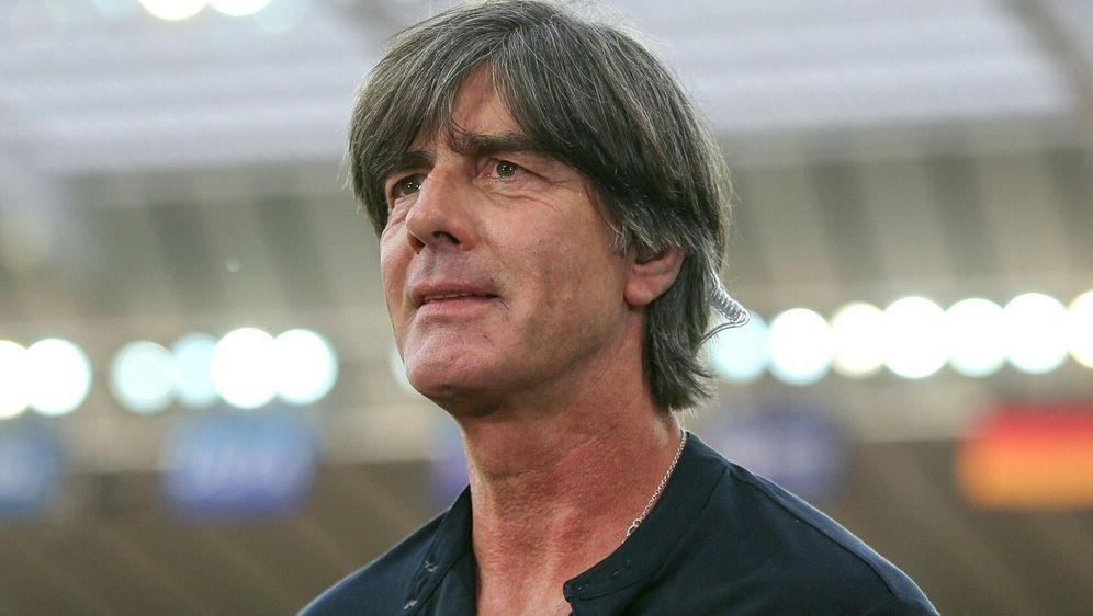 Bundestrainer Löw ist von Fritz Keller überzeugt - Bildquelle: PIXATHLONPIXATHLONSID