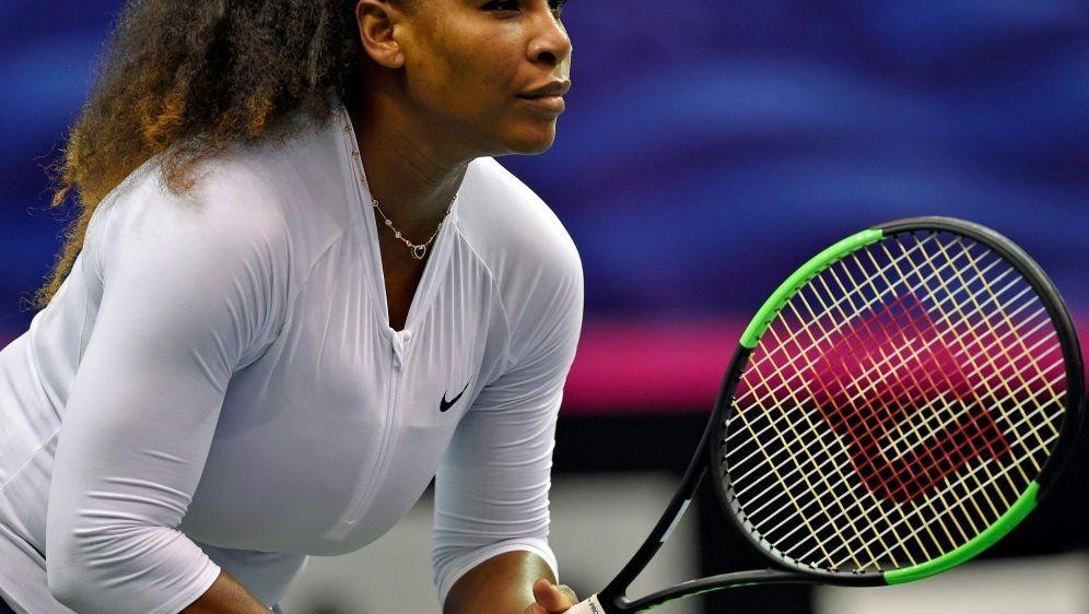Serena Williams hat noch Probleme mit ihrer Doppelrolle - Bildquelle: GETTY AFPSID