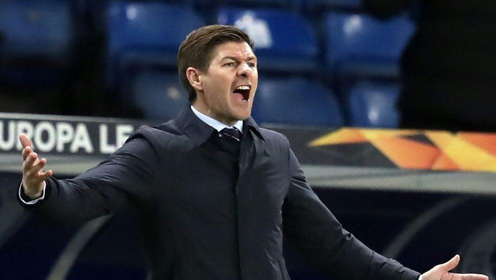 Gerrard äußert Rassismus-Vorwürfe gegen Slavia Prag - Bildquelle: AFPSIDANDREW MILLIGAN