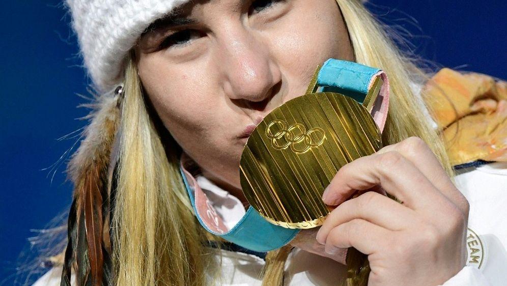 Ledecka gewann Gold in zwei unterschiedlichen Sportarten - Bildquelle: AFPSIDJAVIER SORIANO