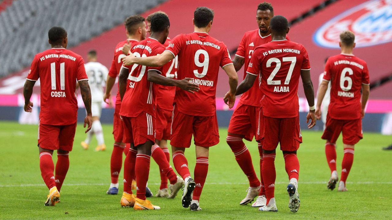 Bayern fertigt auch Frankfurt ab - Bildquelle: imago