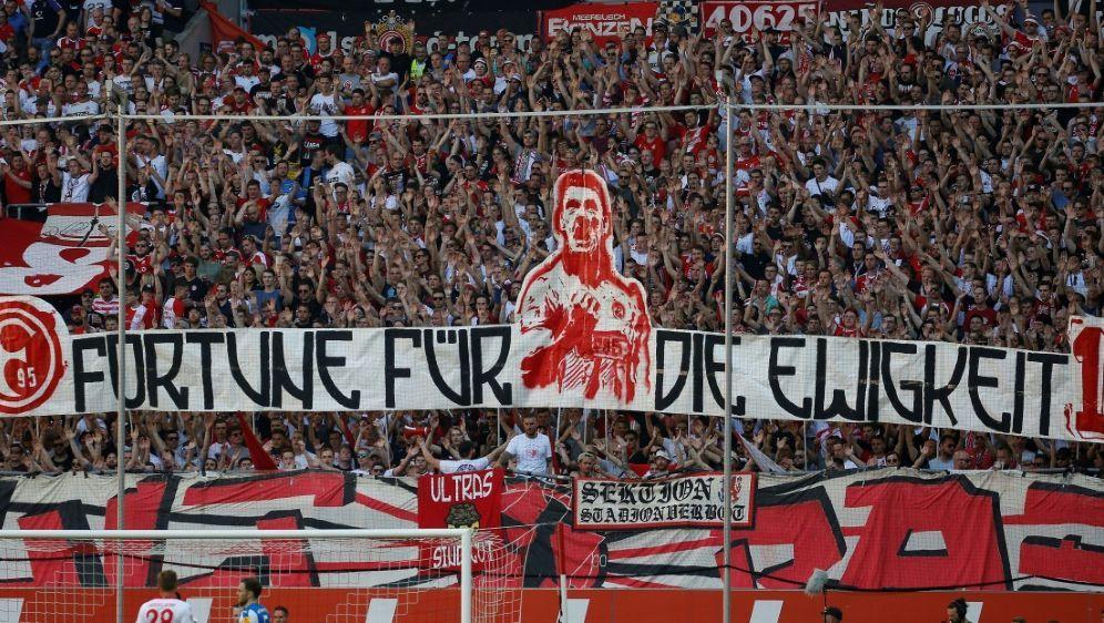 Fortuna Düsseldorf wurde vom DFB bestraft - Bildquelle: PIXATHLONPIXATHLONSID