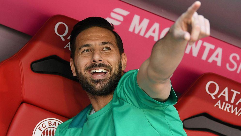 Neuer Vertrag im Anflug? Claudio Pizarro hätte sich einen Verbleib bei Werde... - Bildquelle: imago