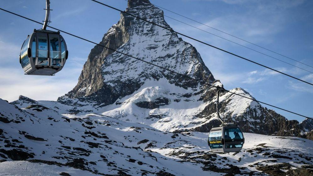 Weltcup-Rennen am Matterhorn für 2023 geplant. - Bildquelle: AFPSIDFABRICE COFFRINI