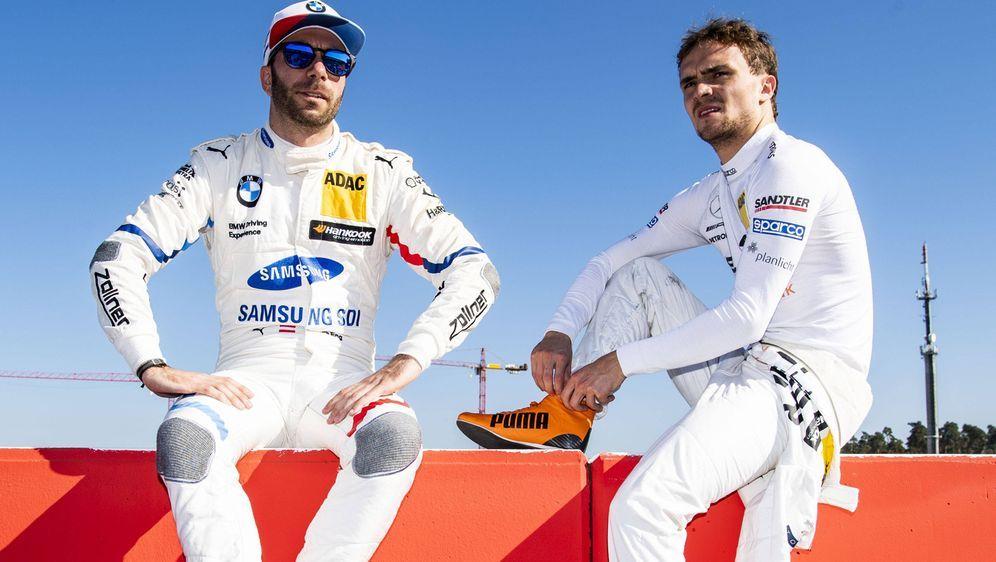 Philipp Eng und Lucas Auer. - Bildquelle: imago/HochZwei
