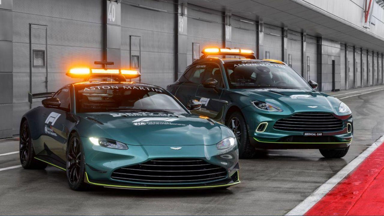 Safety Car Aston Martin - Bildquelle: twitter.com/FIA