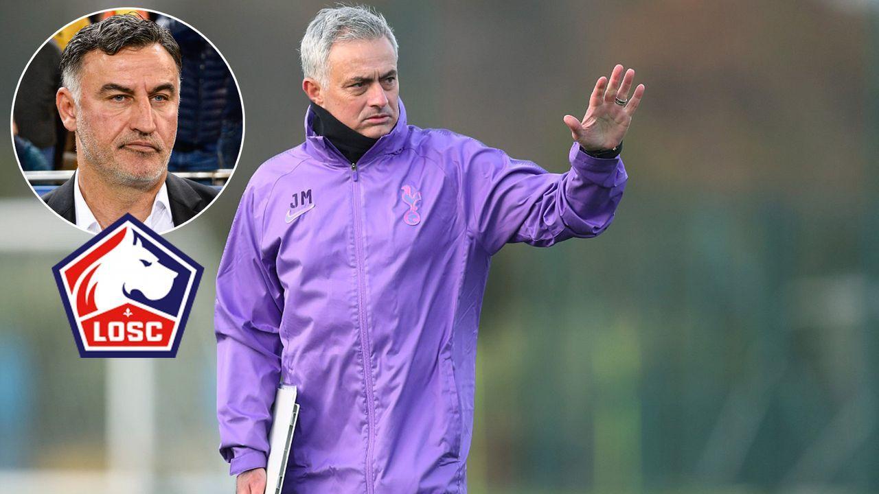 Nach Spurs-Unterschrift: Jose Mourinho hat Ärger mit Ligue-1-Klub Lille - Bildquelle: Imago/twitter@SpursOfficial