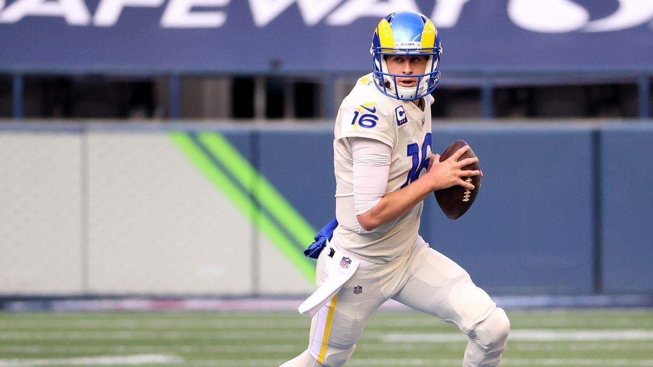 4. Jared Goff (Los Angeles Rams) - Bildquelle: 2020 Getty Images