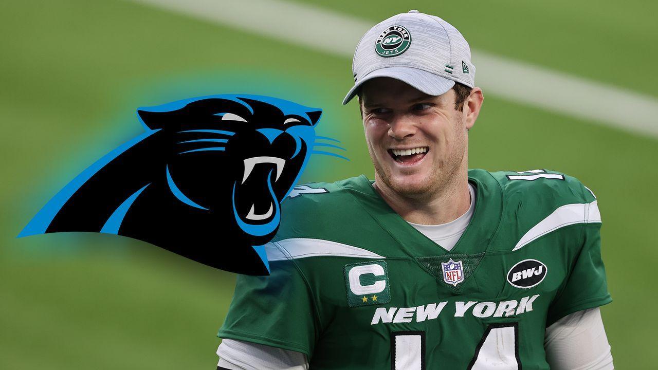 Aus bei den Jets: Sam Darnold wechselt zu den Carolina Panthers - Bildquelle: Getty Images