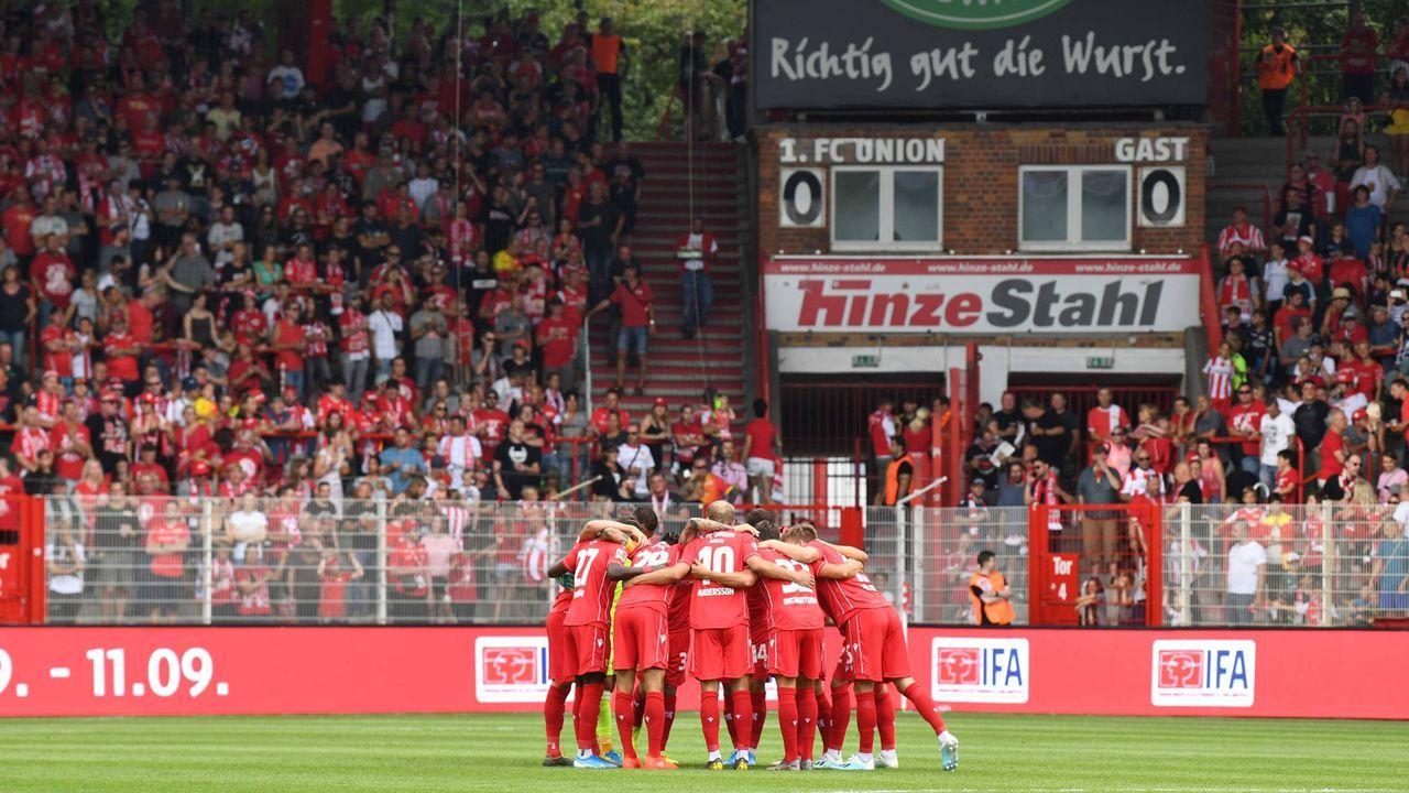 Platz 18: 1. FC Union Berlin - Bildquelle: imago