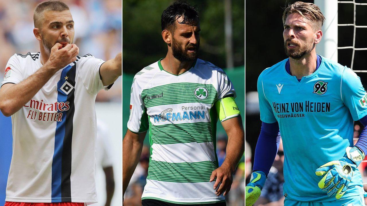 Top-Elf: Die besten Neuzugänge der 2. Bundesliga vor der Saison 2019/20 - Bildquelle: Imago