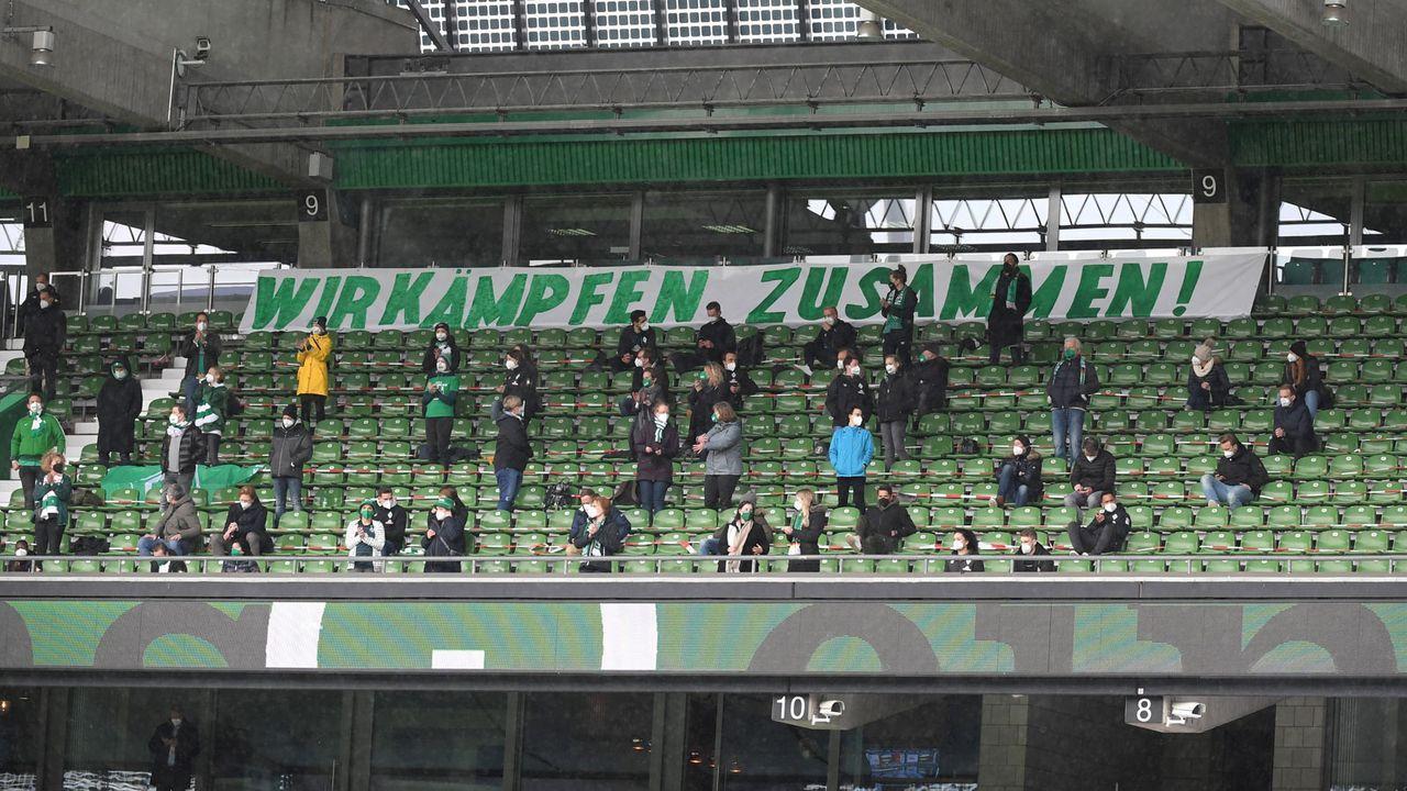 Bremen: Unterstützung von den Rängen - Bildquelle: Imago Images