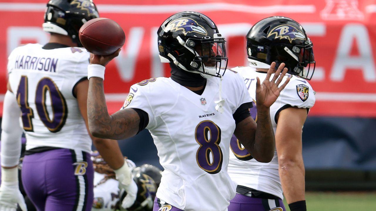 Baltimore Ravens - Kann Lamar Jackson entlastet werden? - Bildquelle: 2021 Getty Images
