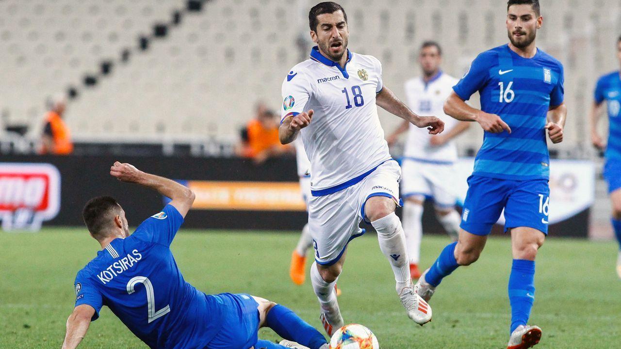 Armenien (Platz 3 in Gruppe J mit neun Punkten) - Bildquelle: imago images / ANE Edition