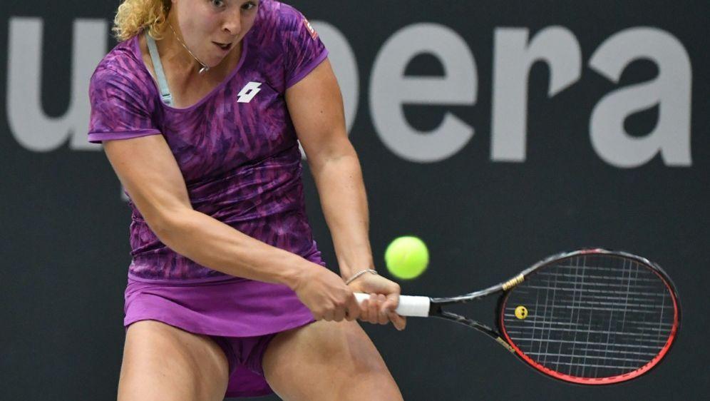 Anna-Lena Friedsam steht in Runde zwei der US Open - Bildquelle: AFPAPASIDBARBARA GINDL