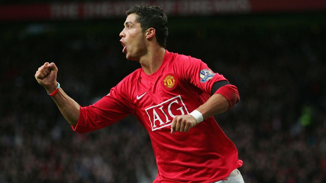 2007: Cristiano Ronaldo  - Bildquelle: 2007 Getty Images