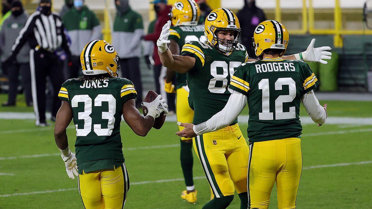 Platz 1: Green Bay Packers (13-3) - Bildquelle: Getty Images