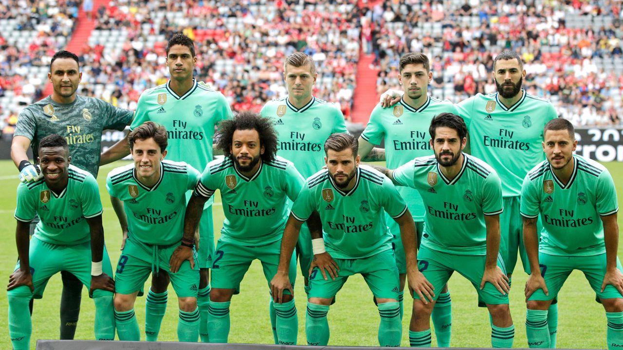 Platz 1: Real Madrid - Bildquelle: 2019 Getty Images
