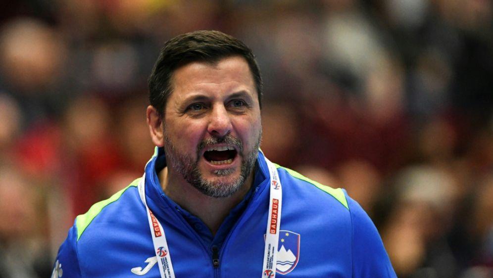 Ljubomir Vranjes mit Slowenien auf Halbfinal-Kurs - Bildquelle: AFPSIDJonathan NACKSTRAND