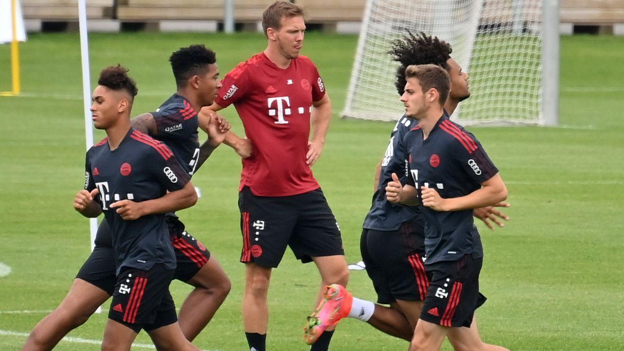 Scott, Schenk, Lawrence: Diese Talente trainieren aktuell bei den Bayern-Profis mit - Bildquelle: Imago