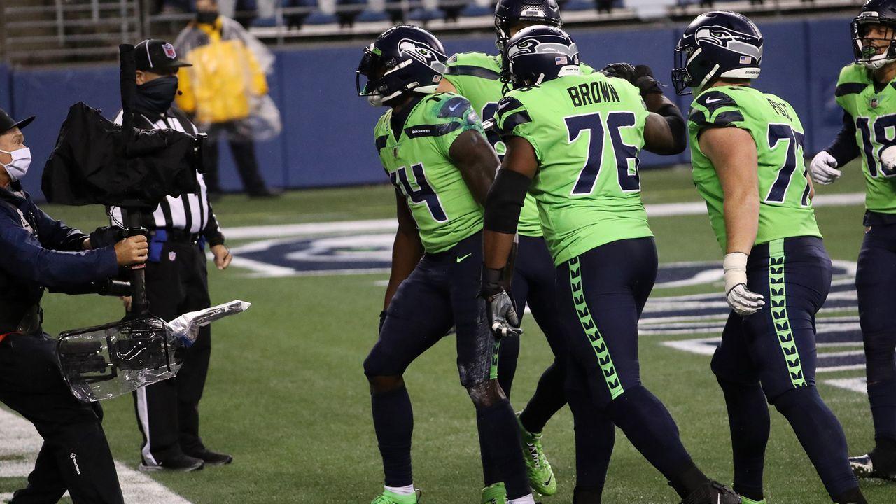 Seattle Seahawks: Metcalf dominiert - Bildquelle: getty