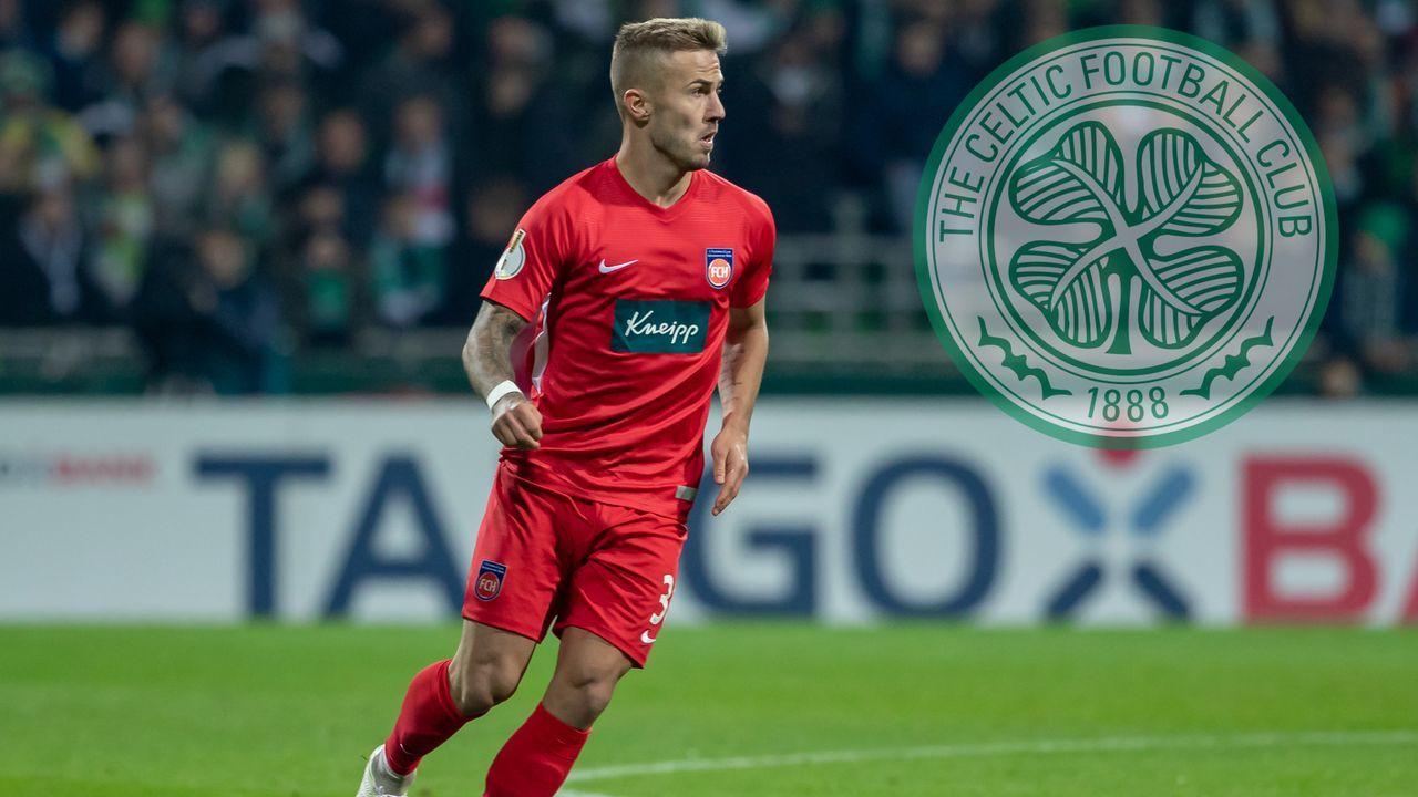 Niklas Dorsch (1. FC Heidenheim) - Bildquelle: 2019 imago
