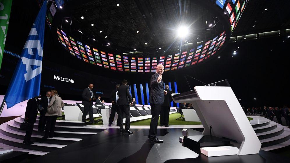 211 wahlberechtigte Verbände beim FIFA-Kongress - Bildquelle: AFPAFPFRANCK FIFE