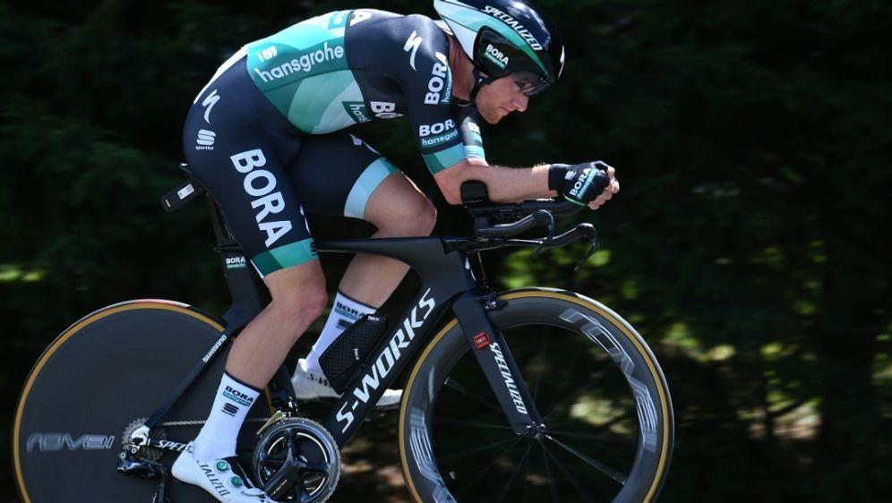 Sam Bennett gewann auch die zweite Etappe - Bildquelle: AFPSIDANNE-CHRISTINE POUJOULAT