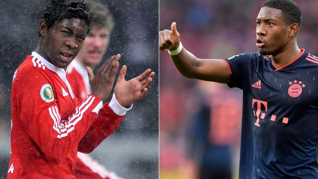 David Alaba gab vor zehn Jahren sein Debüt beim FC Bayern  - Bildquelle: getty/imago