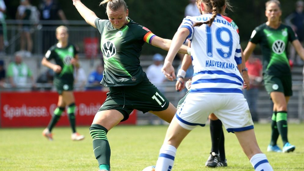 Alexandra Popp steht mit Wolfsburg im Pokalfinale - Bildquelle: FIROFIROSID