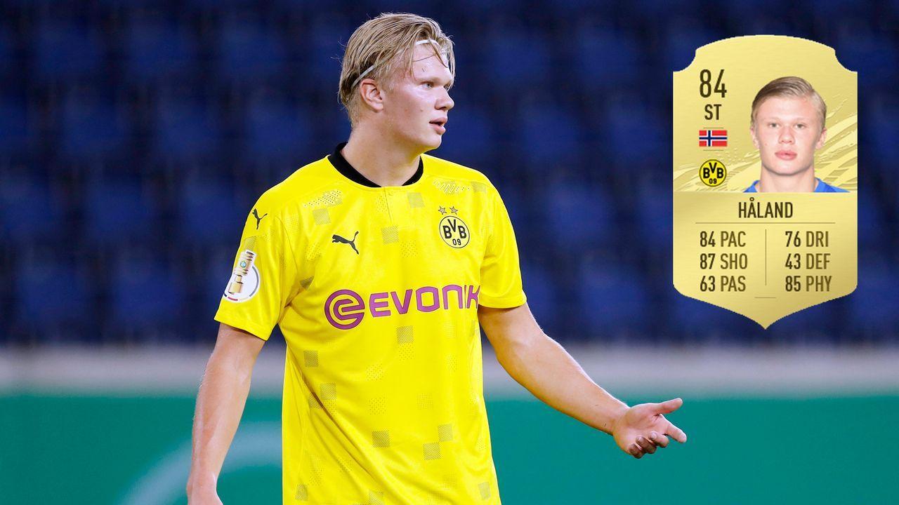 Erling Haaland (Borussia Dortmund) - Bildquelle: Imago / Futhead