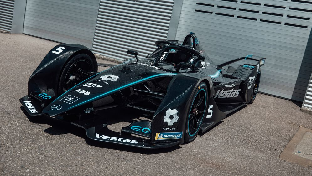 Der Formel-E-Renner von Mercedes. - Bildquelle: © Daimler AG