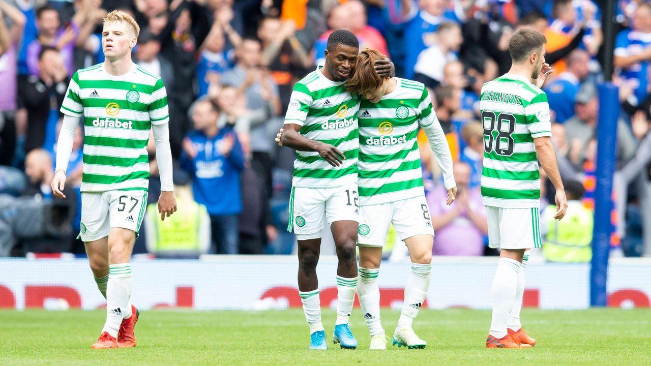Celtic Glasgow: 6 Spiele, 9 Punkte, 16:4 Tore, Platz 6 - Bildquelle: imago images/Colorsport
