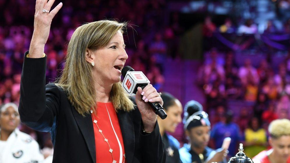 WNBA-Chefin Cathy Engelbert - Bildquelle: GETTY IMAGES NORTH AMERICAGETTY IMAGES NORTH AMERICASIDEthan Miller