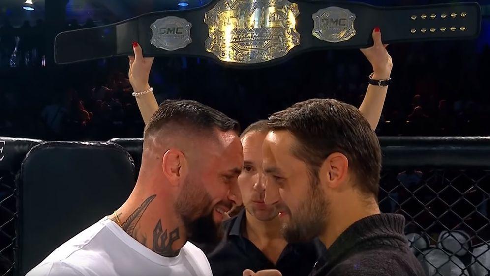 Christian Eckerlin (li.) und Dustin Stoltzfus (re.) holen ihren Titelkampf b... - Bildquelle: GMC