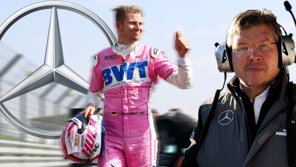 Ross Brawn hätte Nico Hülkenberg einst fast zu Mercedes geholt - Bildquelle: 2020 Getty Images