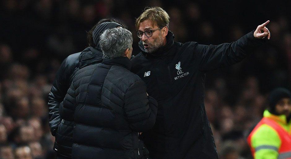 Jose Mourinho vs. Jürgen Klopp - Bildquelle: 2017 Getty Images