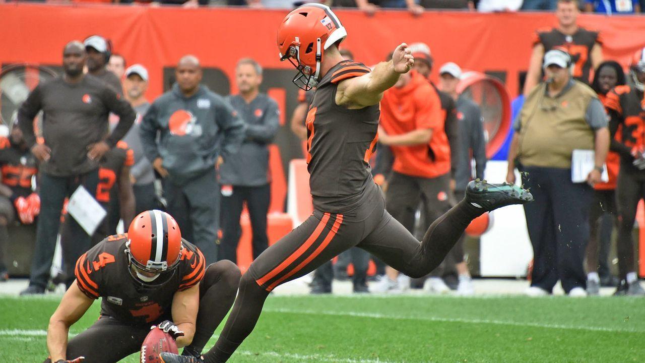 Greg Joseph (Cleveland Browns) - Bildquelle: Getty